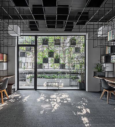 Architekturbüro in Hanoi von Farming Studio