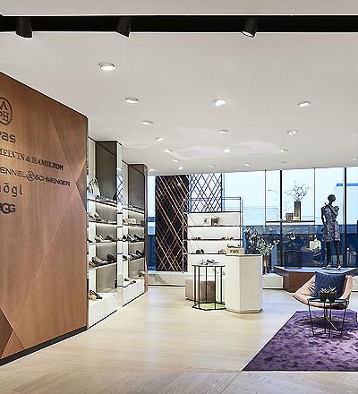 Schuhgeschäft in Oldenburg von Blocher Partners