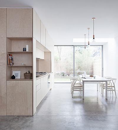 Apartment in London von Larissa Johnston Architects