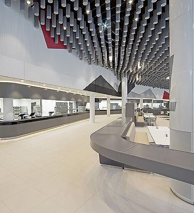 Betriebsrestaurant der Audi AG in Ingolstadt von Landau + Kindelbacher