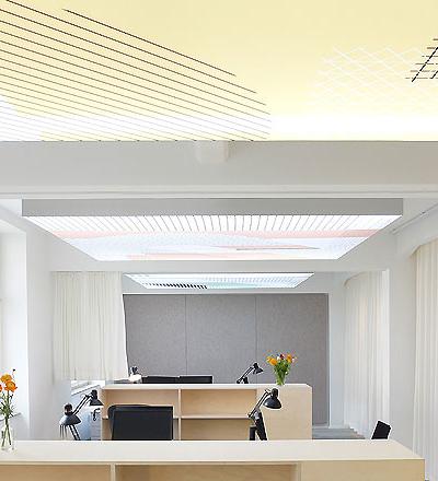 Redaktionsräume in Stuttgart von Holzer & Friedrich und st studio
