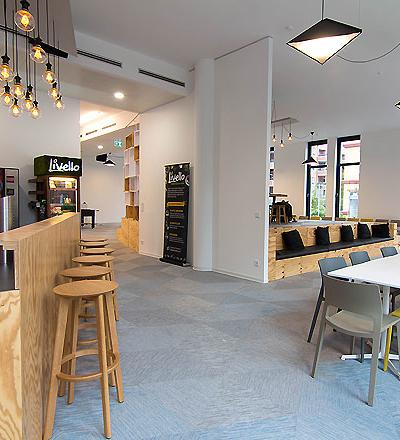 Bürohaus in Düsseldorf von slapa oberholz pszczulny I sop architekten