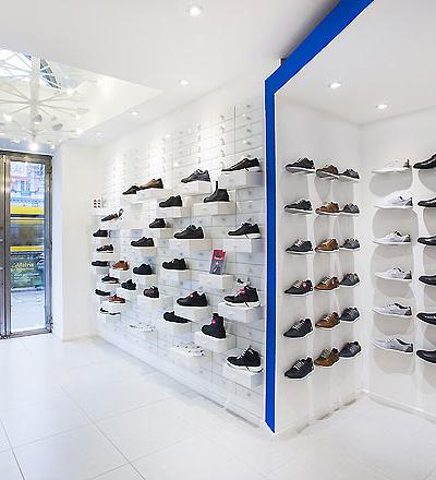 Schuhgeschäft in Budapest von kissmiklos