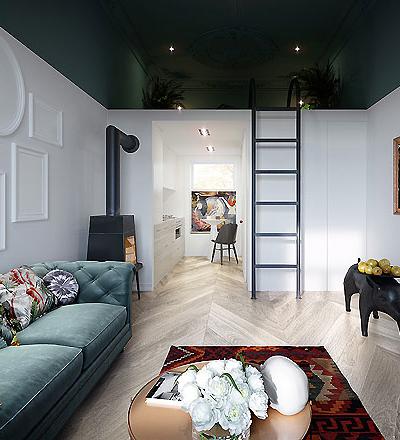 Apartment in Lublin von Justyna Wasiluk-Ptaszynska