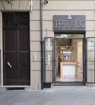 Restaurant Tritalo in Palermo von Studio DiDeA