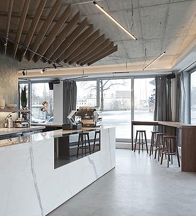 Wagners – Juicery & Health Food in München von TKEZ architecture & design