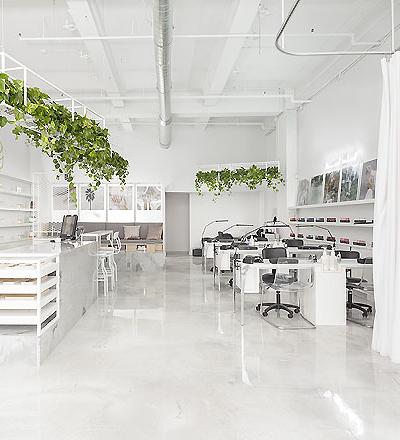 Kosmetikstudio Le Manoir in Montreal von Tuxedo