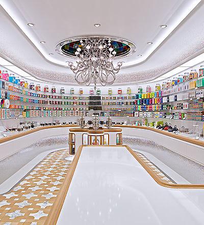 Kusmi Tea Store in New York von Christopher Jenner