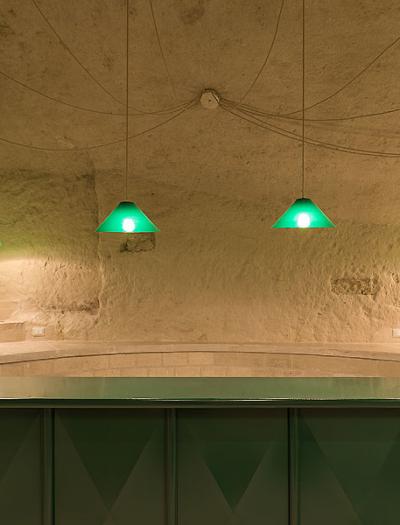 Enoteca in Matera von Architecten de vylder vinck taillieu