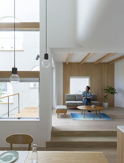 Wohnhaus in Otsu von Alts Design Office