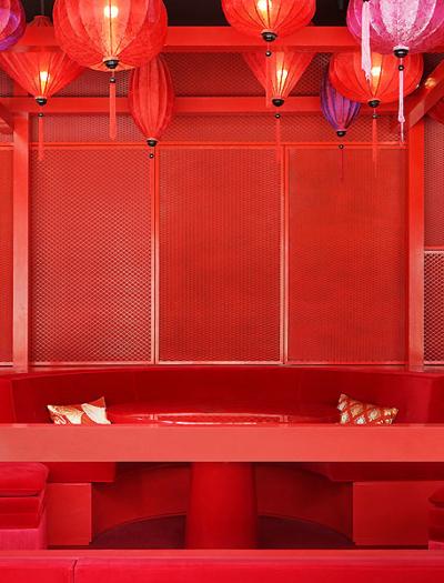 Restaurant in Dubai von Bruzkus Batek Architekten