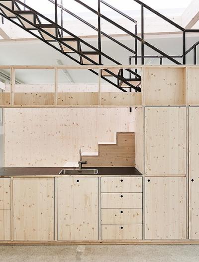 Atelier in Zürich von Stephan Brunner Architektur