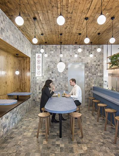 Smallfry Seafood in Adelaide von Sans-Arc Studio