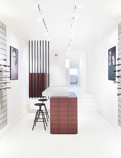 Viu-Store in Nürnberg von Fabrice Aeberhard