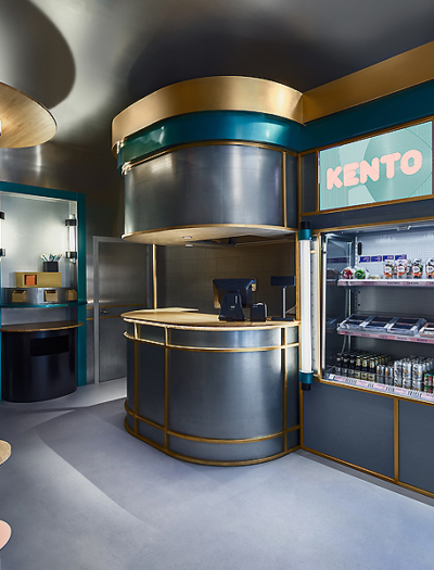 Restaurant Kento in Valencia von Masquespacio
