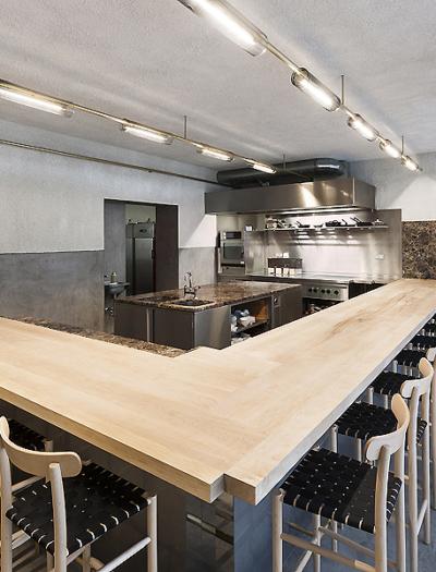 Restaurant Ernst in Berlin von Gonzalez Haase AAS