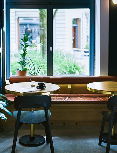 Restaurant in Luzern von Build_Inc Architekten