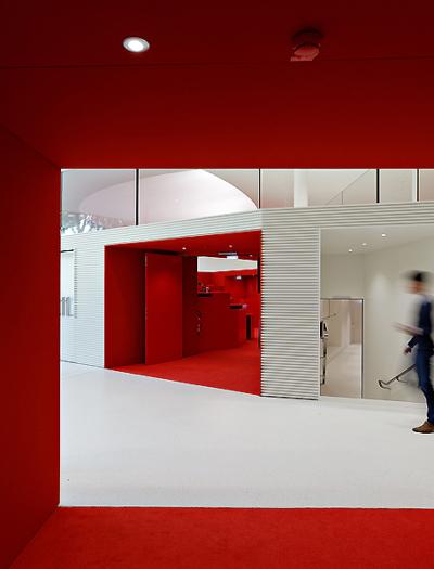 Studien- und Konferenzzentrum in Mannheim von schneider+schumacher