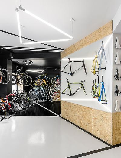 Bike-Shop Vèlo 7 in Posen von Modelina