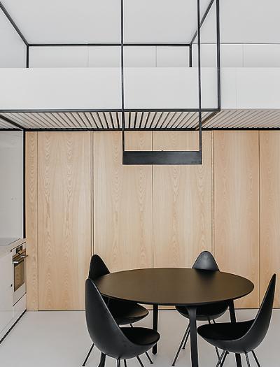 Apartment in Krakau von Mus Architects