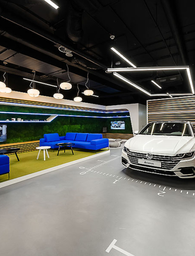 Volkswagen Showroom in Warschau von Modelina