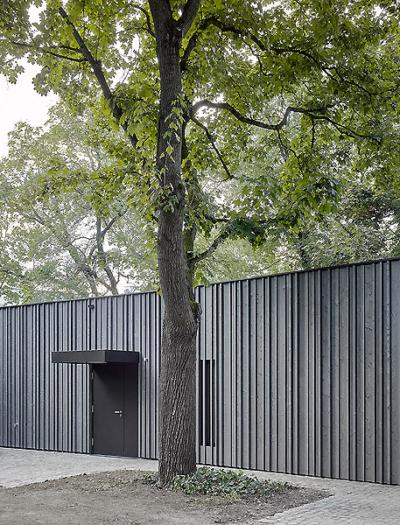 Gemeindepavillon in Basel von BRI-Architekten