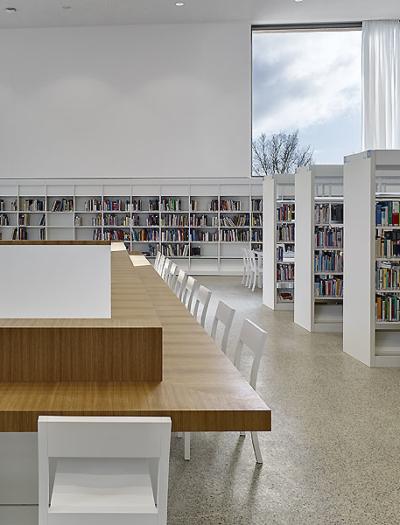 Stadtbibliothek in Heidenheim von Max Dudler