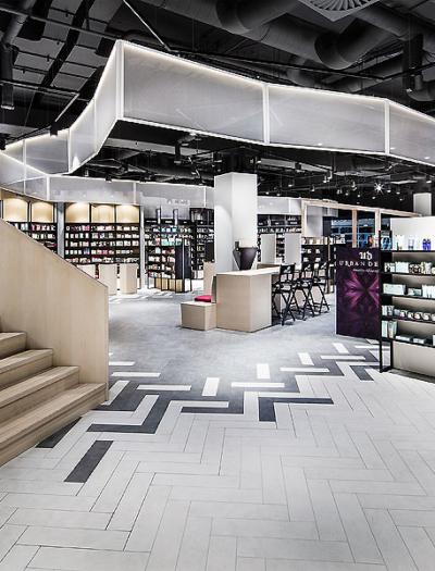 Flagship-Store in Stuttgart von Dittel Architekten
