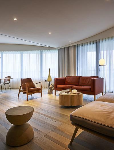 Apartment in Taipeh von Waterfrom Design