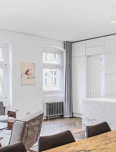 Apartment in Berlin von Itay Friedman Architekten