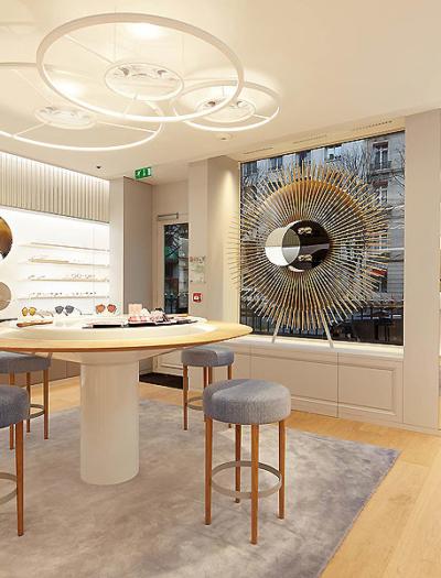 Dior Brillen-Boutique in Paris von Labvert
