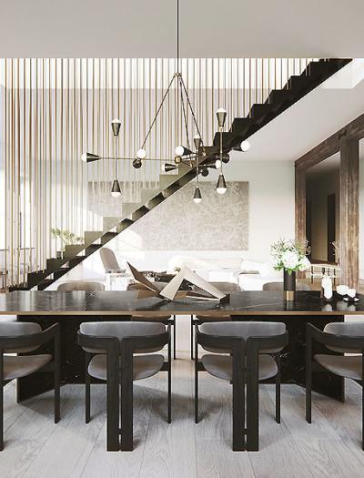 Apartment in New York von DJDS Dorothee Junkin Design Studio
