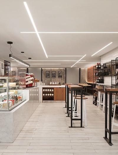 Restaurant in Toronto von DesignAgency