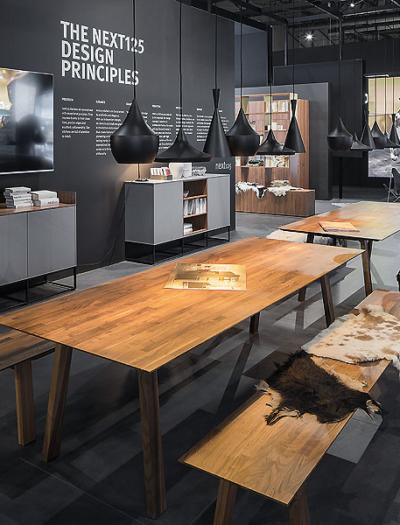 Messestand von Schüller in Mailand von D´art Design