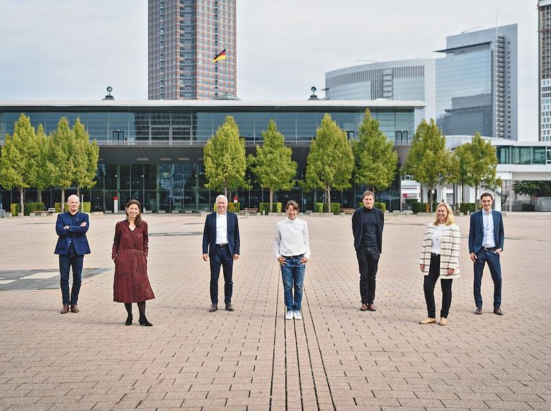 Jury und Organisatoren Innovationspreis