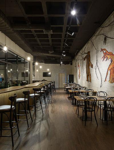 Restaurant Wine District in Lissabon von Arq Tailor's