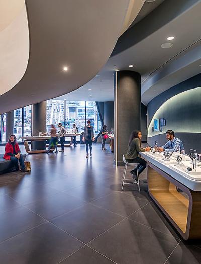 Samsung Experience Store in Toronto von Quadrangle