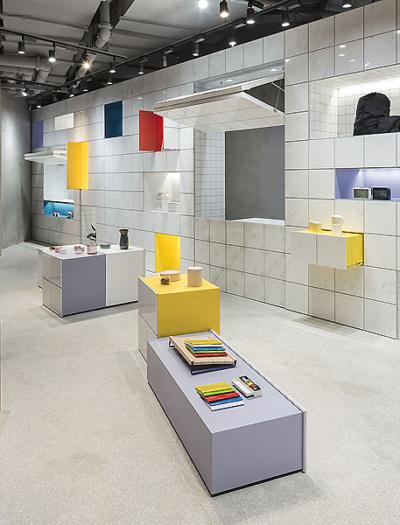 Editor Store in Shanghai von B.L.U.E. Architecture Studio