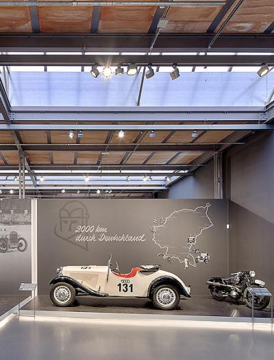August-Horch-Museum in Zwickau von Atelier Brückner