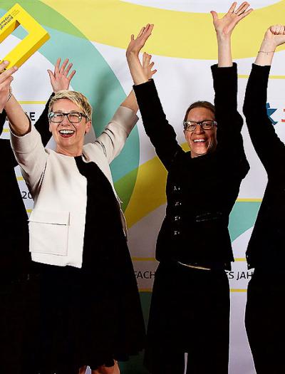 Das Daumendrücken hat geholfen: Wir haben gewonnen!