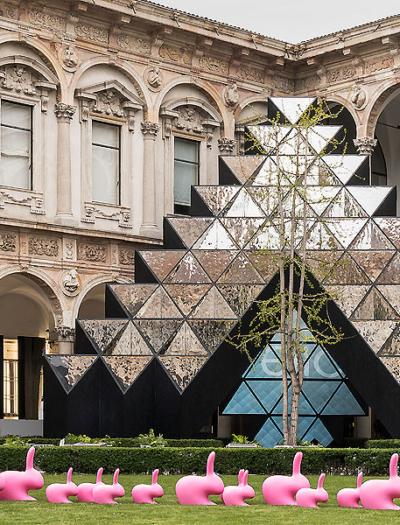 Installation in Mailand von Labics