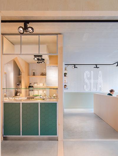 Salad Bar in Amsterdam von Standard Studio