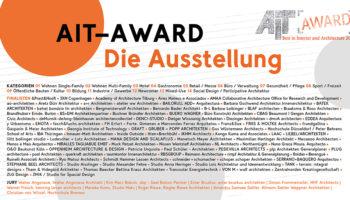 AIT-Award 2020 | Die Ausstellung im AIT-ArchitekturSalon Hamburg