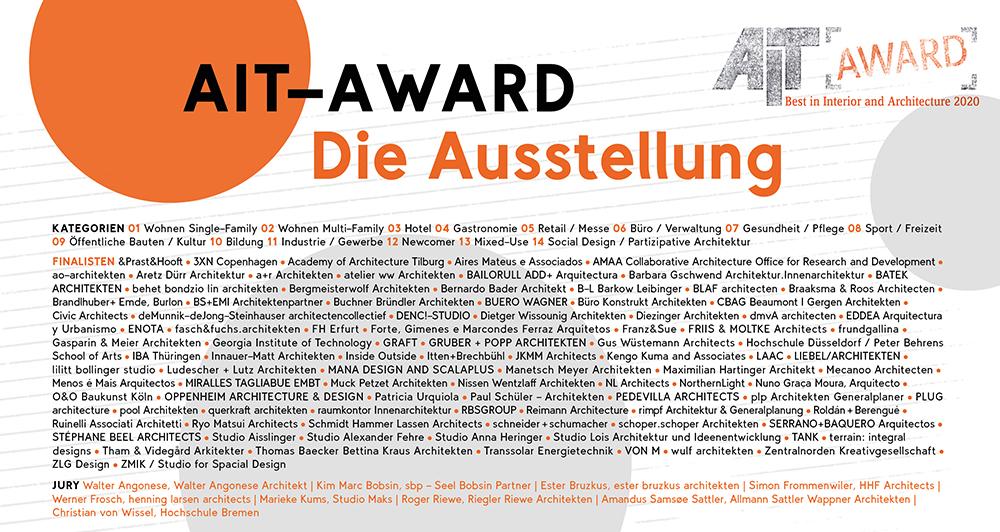 AIT-Award 2020 | Die Ausstellung