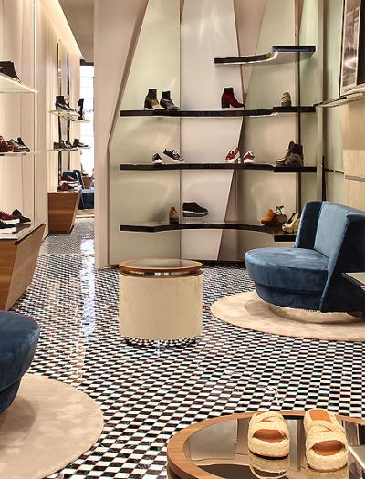 Boutique in Paris von Vudafieri Saverino Partners
