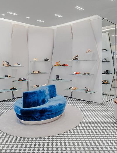 Boutique in New York von Vudafieri-Saverino Partners