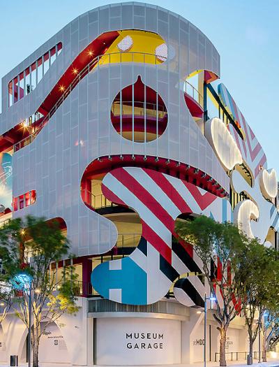 Museumsgarage in Miami von  j. mayer h
