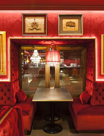 Café Sacher Eck in Wien von BWM Architekten