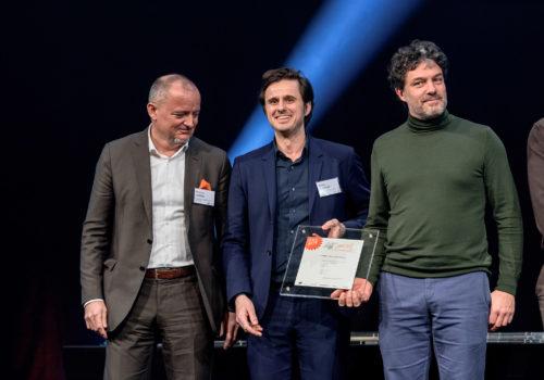 1. Preis Kategorie Büro, Schenker Salvi Weber Architekten mit Feld 72 Architekten