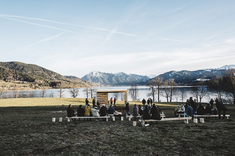 Pavillon in Gmund am Tegernsee 01